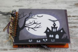 "KIT + TUTORIAL SCRAP ""Halloween Luna"