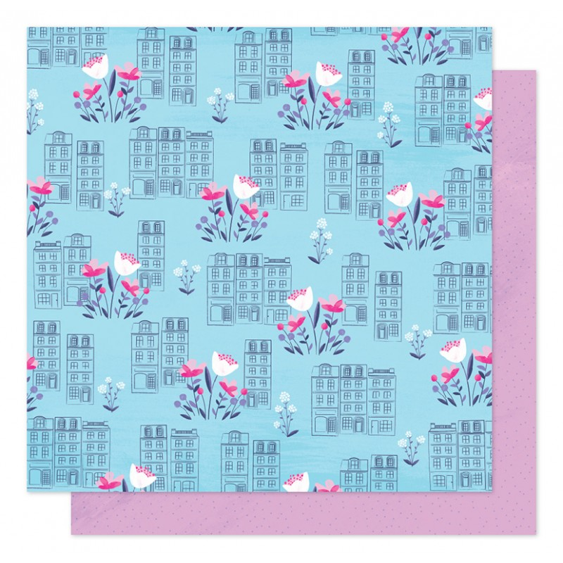 Papel Spring in the city Sparkle City