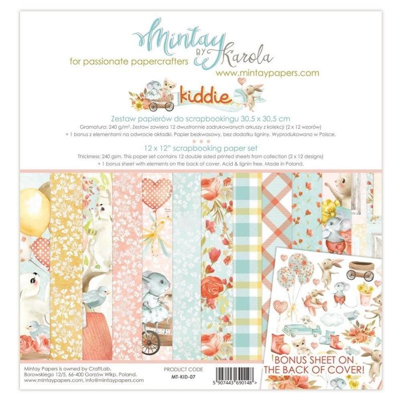 """Colección Completa """"Kiddie"""" de Mintay"""
