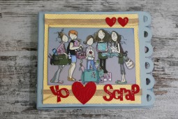 "KIT + TUTORIAL SCRAP - ""Yo amo Scrap"""
