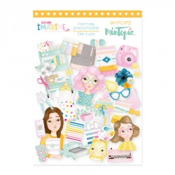 "Die cuts ""Imagine"" - Mintopia"