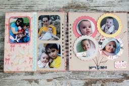 ÁLBUM SCRAP - 'Bebé niña'