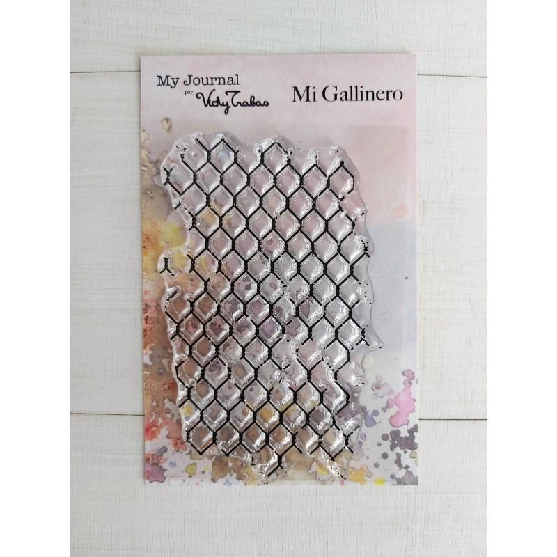 SELLO MI GALLINERO - VICKY TRABAS