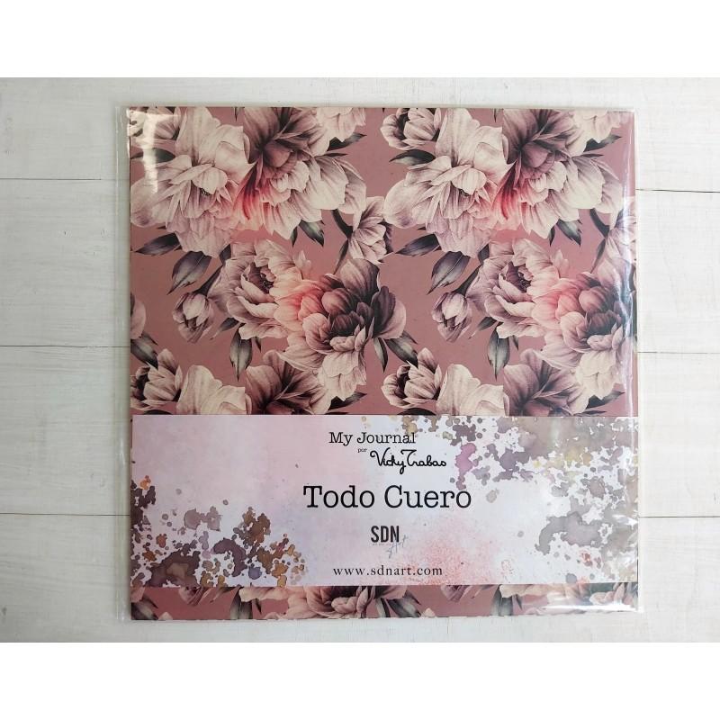 COLECCIÓN TODO CUERO MY JOURNAL - VICKY TRABAS