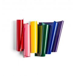 CRICUT SURTIDO VINILO TEXTIL Rainbow 30 CM X 30 CM