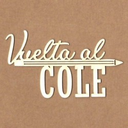 Chipboard vuelta al cole