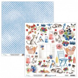 PAPEL 12x12'' - Berrylicious Elements
