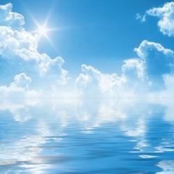 Papel cielo ocean
