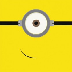 Papel ojo Minion