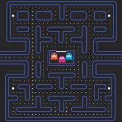 Papel juego Pacman