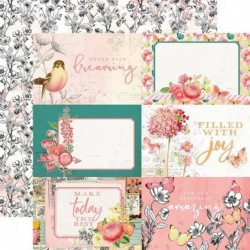 Papel Simple Vintage Garden District Elements 4x6