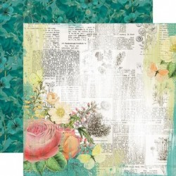 Papel Simple Vintage Garden District Live for Today