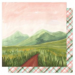 Papel One Canoe Two Mountain Path