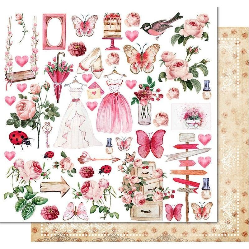 Papel Princess Garden - Soul of flowers