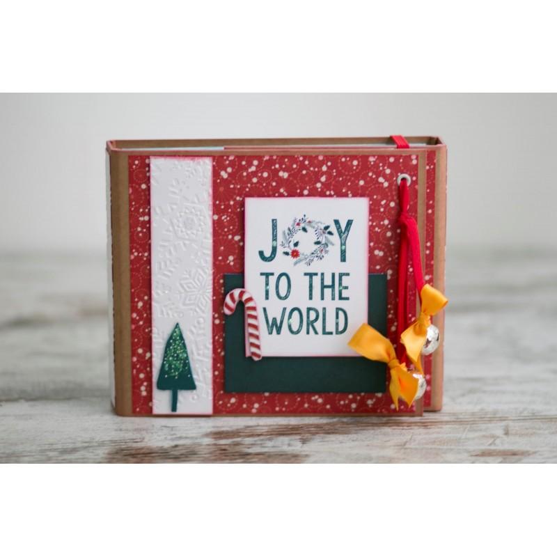 "KIT + TUTORIAL SCRAP - ""Navidad FA LA LA"""