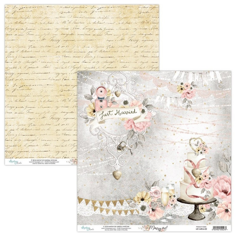 Papel Mintay  - Marry Me 02