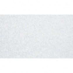Cartulina perlada lisa - blanca