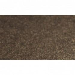 Cartulina perlada lisa - marrón oscuro