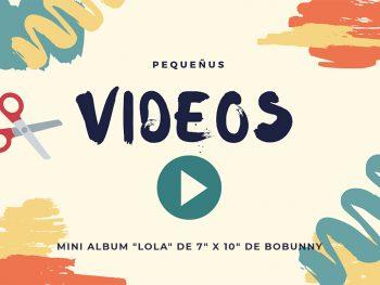 Video Scrapbook Mini Album Lola